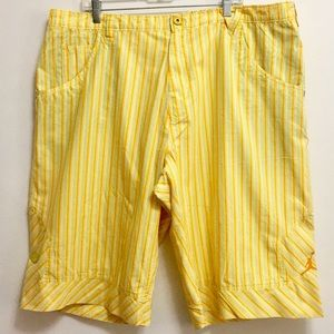 Jordan Air Yellow Pin-stripes Shorts (44/3TG)